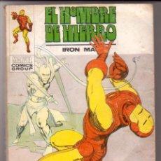 Cómics: EL HOMBRE DE HIERRO VOL.1 # 32 (VERTICE,1973) - ULTIMO NUMERO. Lote 43038178
