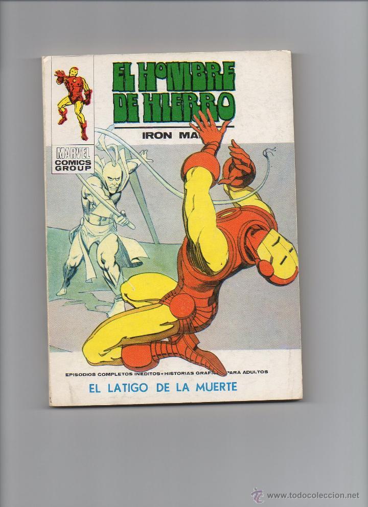 HOMBRE DE HIERRO V1 Nº32 VÉRTICE (Tebeos y Comics - Vértice - Hombre de Hierro)