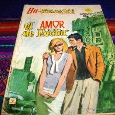 Cómics: VÉRTICE GRAPA BITONO HIT ROMANCE Nº 6. 10 PTS. 1965. EL AMOR DE HÉCTOR. DIFÍCIL!!!!!. Lote 43200974