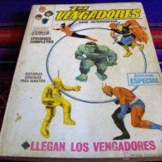 Cómics: VÉRTICE VOL. 1 LOS VENGADORES Nº 1. 1969. 25 PTS. DIFÍCIL Y BUEN ESTADO.. Lote 43201422