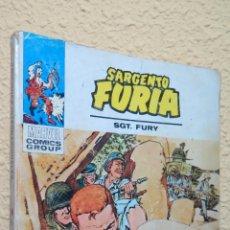 Cómics: EL ENAMORADO DE LA GUERRA. SARGENTO FURIA. MARVEL COMICS GROUP. Lote 43220017