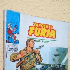 Cómics: MUERTE EN COMBATE. SARGENTO FURIA. MARVEL COMICS GROUP. Lote 43220029