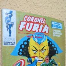 Cómics: LA SEGUNDA MUERTE. SARGENTO FURIA. MARVEL COMICS GROUP. BUEN ESTADO. Lote 43220037