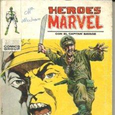 Cómics: HEROES MARVEL CON EL CAPITÁN SAVAGE VOLUMEN 1 VÉRTICE Nº 11. Lote 43326682