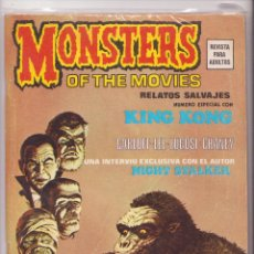 Cómics: MONSTERS OF THE MOVIES RELATOS SALVAJES Nº 1 VERTICE. Lote 43440699