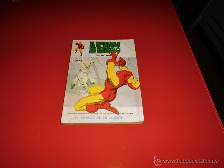 VERTICE VOL. 1 EL HOMBRE DE HIERRO Nº 32 (Tebeos y Comics - Vértice - Hombre de Hierro)