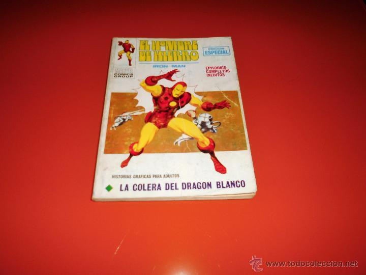 VERTICE VOL, 1 EL HOMBRE DE HIERRO Nº 18 (Tebeos y Comics - Vértice - Hombre de Hierro)