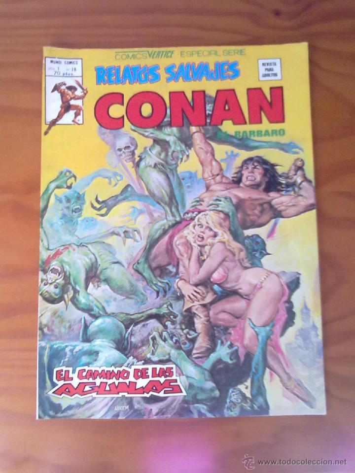 COMIC CONAN EL BARBARO VOL.1 Nº 78 DE COMICS VERTICE SERIE ESPECIAL (Tebeos y Comics - Vértice - Conan)