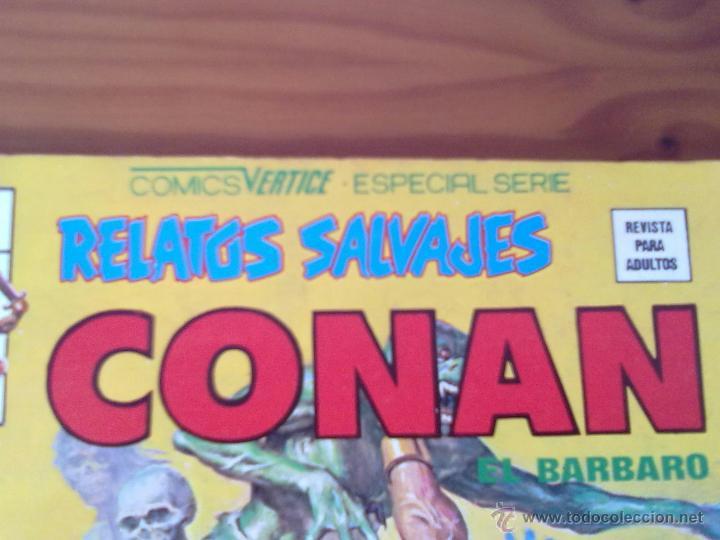 Cómics: COMIC CONAN EL BARBARO VOL.1 Nº 78 DE COMICS VERTICE SERIE ESPECIAL - Foto 4 - 43564744