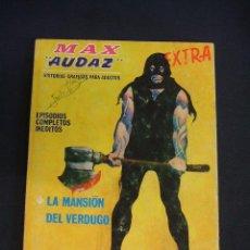 Cómics: MAX AUDAZ - Nº 13 - LAS MANSION DEL VERDUGO - VERTICE - BUEN ESTADO - DIFICIL - . Lote 43624371