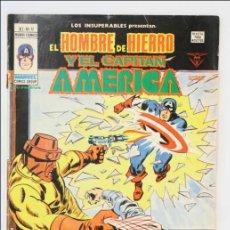 Cómics: CÓMIC EL HOMBRE DE HIERRO Y EL CAPITÁN AMÉRICA - V 1. Nº 17 - 1978 - EDICIONES VÉRTICE. Lote 43657488