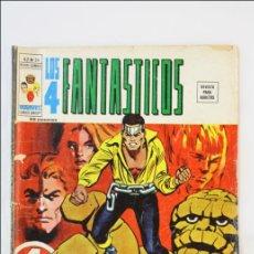 Cómics: CÓMIC LOS 4 FANTÁSTICOS. CINCO PERSONAJES EN BUSCA DE UN LOCO - V 2. Nº 24 - 1973- EDICIONES VÉRTICE. Lote 43657625