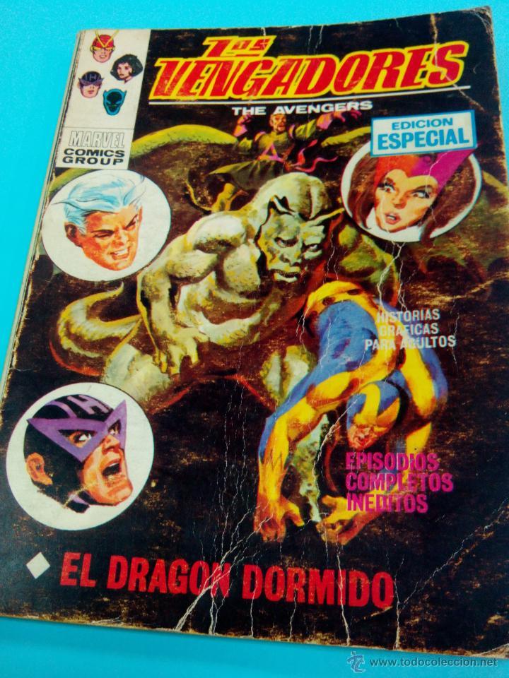 LOS VENGADORES Nº 18 VERTICE VOLUMEN 1 MARVEL (Tebeos y Comics - Vértice - Vengadores)