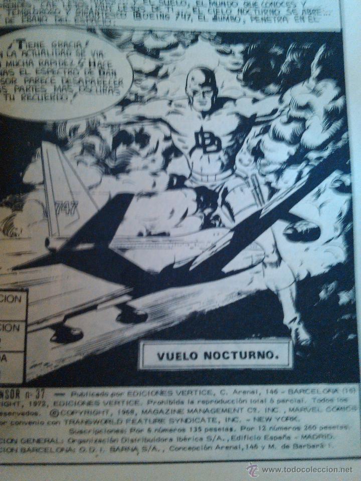 Cómics: marvel comics group dan defensor dare devil nº 37 el ataque del gladiador 197 mbe - Foto 2 - 43825416