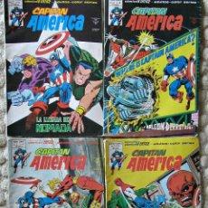 Cómics: CAPITAN AMERICA. LOTE Nº 40-41-42-43 DEL VOLUMEN 3. Lote 43827196