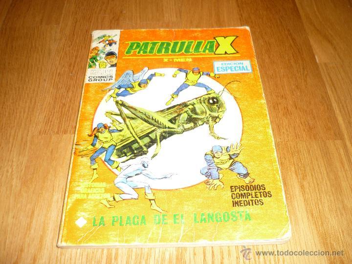 PATRULLA-X - Nº 11 LA PLAGA DE EL LANGOSTA - EDICIONES VERTICE - (Tebeos y Comics - Vértice - Patrulla X)