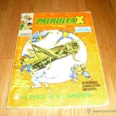 Cómics: PATRULLA-X - Nº 11 LA PLAGA DE EL LANGOSTA - EDICIONES VERTICE -. Lote 43853601
