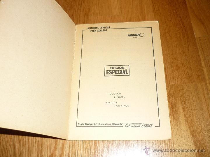 Cómics: PATRULLA-X - Nº 11 LA PLAGA DE EL LANGOSTA - EDICIONES VERTICE - - Foto 2 - 43853601
