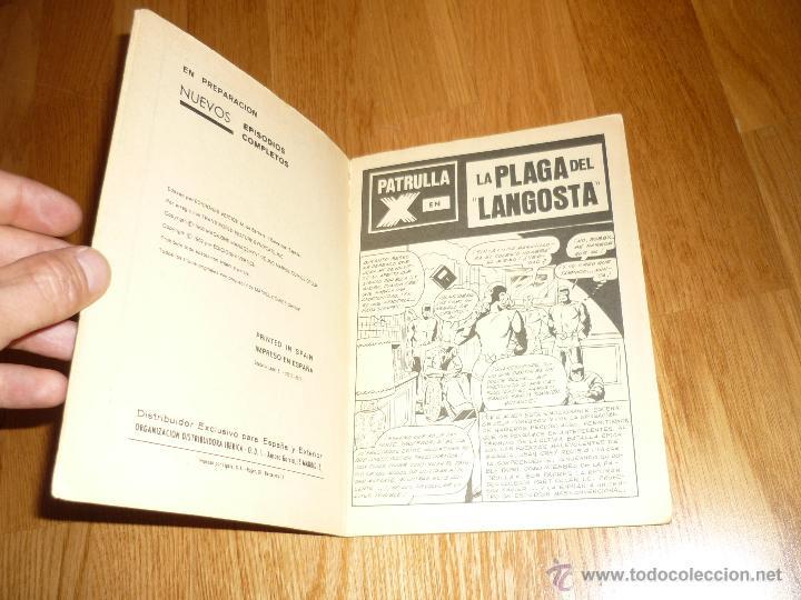 Cómics: PATRULLA-X - Nº 11 LA PLAGA DE EL LANGOSTA - EDICIONES VERTICE - - Foto 3 - 43853601