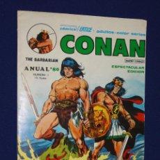 Cómics: CONAN ANUAL '80 - VERTICE. Lote 100761747