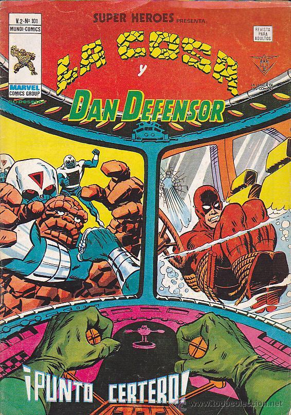 COMIC SUPER HEROES VOL. 2 Nº 101 (Tebeos y Comics - Vértice - Super Héroes)