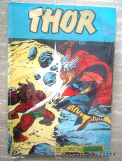 THOR VOL. 2. VÉRTICE: REENTAPADO CON LOS Nº 49-50-51-52-53 (Tebeos y Comics - Vértice - Thor)