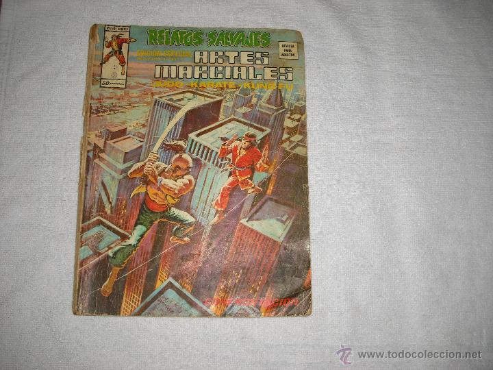 ARTES MARCIALES Nº 5 1975 (Tebeos y Comics - Vértice - Relatos Salvajes)