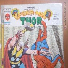 Fumetti: ESPECIAL SUPER HÉROES. Nº 3. SPIDERMAN Y THOR. VÉRTICE. Lote 44455726