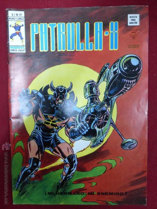 PATRULLA X VOL 3 VERTICE Nº 21 - MI HERMANO MI ENEMIGO (Tebeos y Comics - Vértice - Patrulla X)