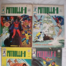 Cómics: LOTE # 4 COMICS LA PATRULLA-X (VERTICE) VOL.3 # 1, 3, 16, 19. Lote 44657792