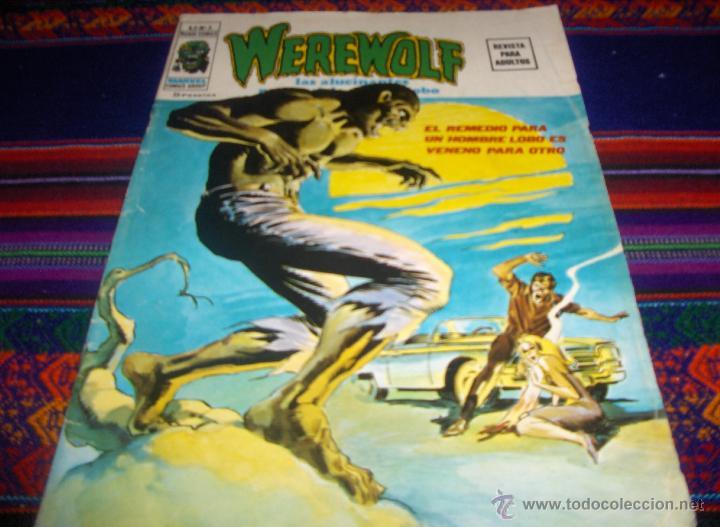 VÉRTICE VOL. 2 WEREWOLF HOMBRE LOBO Nº 3. 1975. 35 PTS. BUEN ESTADO Y DIFÍCIL!!!! (Tebeos y Comics - Vértice - V.2)