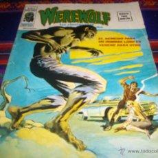 Cómics: VÉRTICE VOL. 2 WEREWOLF HOMBRE LOBO Nº 3. 1975. 35 PTS. BUEN ESTADO Y DIFÍCIL!!!!. Lote 44818964