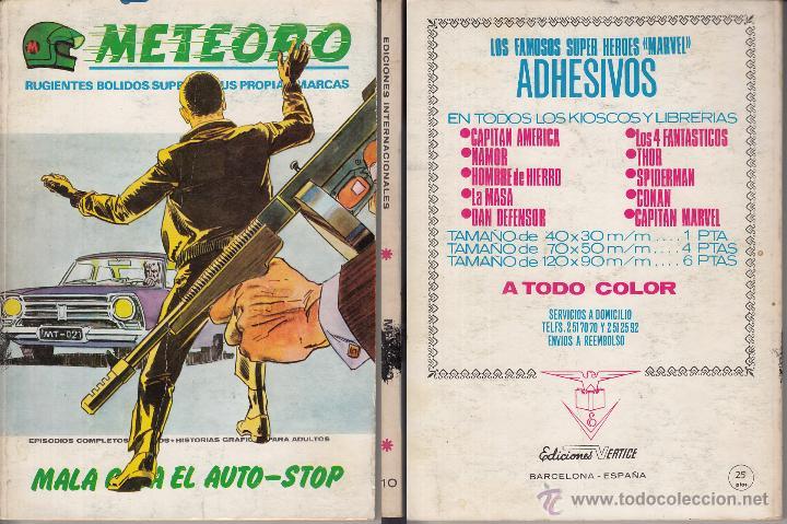 VERTICE V1 METEORO 10 (Tebeos y Comics - Vértice - V.1)