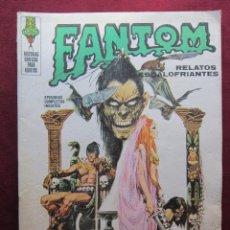Cómics: FANTOM Nº 8. EJERCITO DE CADAVERES. EDITORIAL VERTICE, 1972 . Lote 45221819