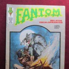 Cómics: FANTOM Nº 27. UN MONSTRUO ENTRE NOSOTROS. EDITORIAL VERTICE, 1973. Lote 45221860