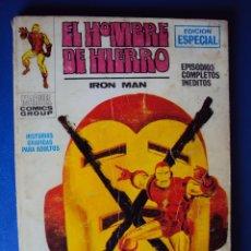 Cómics: (COM-900)EL HOMBRE DE HIERRO - IRON MAN - VERTICE - NUMERO 9- EL RELEVO DEL HOMBRE DE HIERRO. Lote 45227374