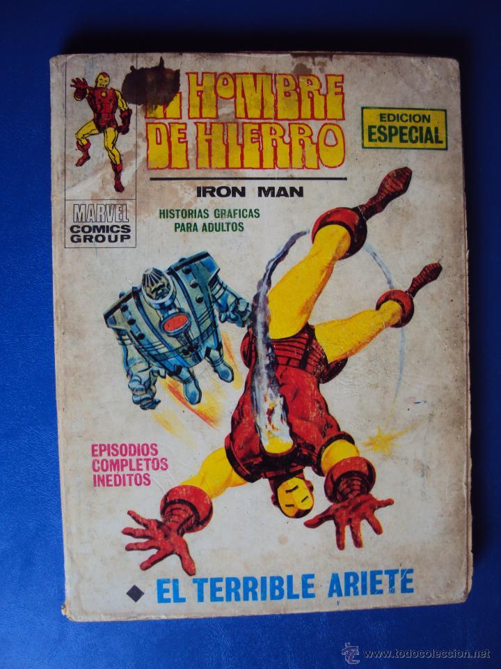 (COM-902)EL HOMBRE DE HIERRO - IRON MAN - VERTICE - NUMERO 17 - EL TERRIBLE ARIETE (Tebeos y Comics - Vértice - Hombre de Hierro)