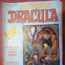 Comics: ESCALOFRÍO. LA TUMBA DE DRÁCULA. VOL 2. Nº 3. VÉRTICE. Lote 45303877