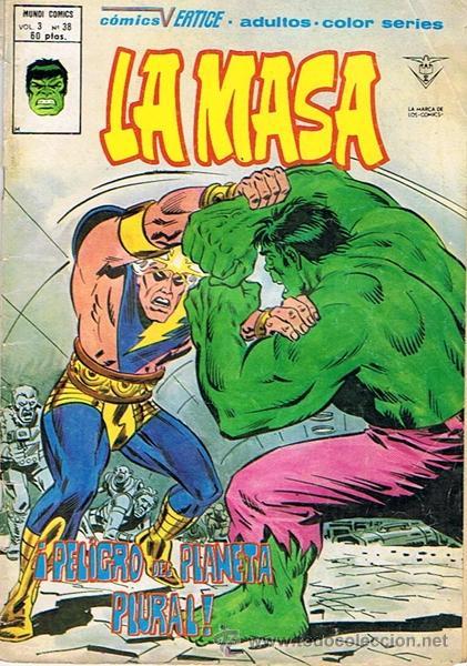 LA MASA N.38 EDICIONES VÉRTICE (Tebeos y Comics - Vértice - La Masa)