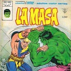 Cómics: LA MASA N.38 EDICIONES VÉRTICE. Lote 45395439