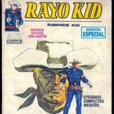 Cómics: RAYO KID Nº 3 (VÉRTICE TACO) MUY DIFÍCIL. Lote 45502128