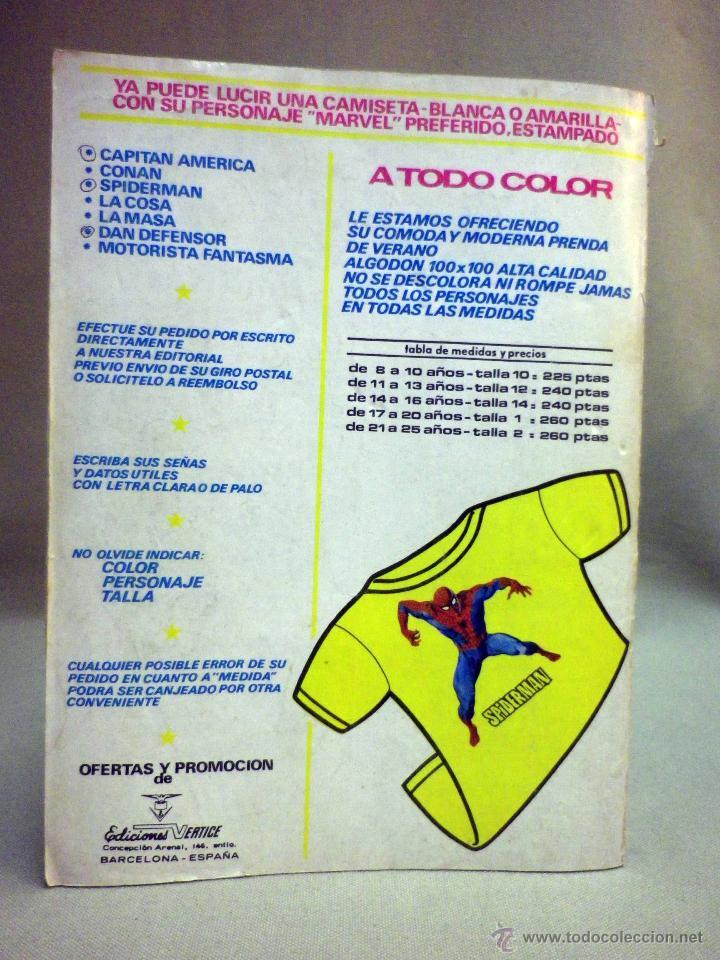 Cómics: TEBEO O COMIC, EL MOTORISTA FANTASMA, V 2, Nº 19, EDICIONES VERTICE - Foto 3 - 45525243