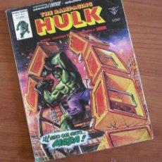 Cómics: THE RAMPAGING HULK Nº 11, CON EL NIÑO QUE GRITÓ MASA Y EL CABALLERO LUNA DE GENE COLAN. REBAJA !!!. Lote 45571736