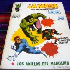 Cómics: VÉRTICE VOL. 1 LA MASA Nº 3 CON NICK FURIA. 1970. 25 PTS. LOS ANILLOS DEL MANDARÍN. NUEVO.. Lote 45593125
