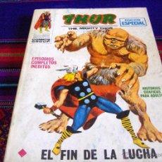 Cómics: VÉRTICE VOL. 1 THOR Nº 11. 1971. 25 PTS. EL FIN DE LA LUCHA. MUY BUEN ESTADO.. Lote 45593189