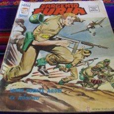 Cómics: VÉRTICE VOL. 2 SARGENTO FURIA Nº 9. 35 PTS. 1975. ARDE PUENTE ARDE. MUY DIFÍCIL!!!!!. Lote 45594327