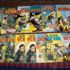 Cómics: VÉRTICE COMICS ART CISCO KID NºS 2 3 5 5 6 6 7 7 8 10 11 13 14 17 18 22 22. 75 PTS. 1980.. Lote 45594737