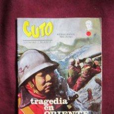 Cómics: CUTO Nº 6. TRAGEDIA EN ORIENTE. JESUS BLASCO. EDICIONES VERTICE 1965. TEBENI MBE. Lote 45653534