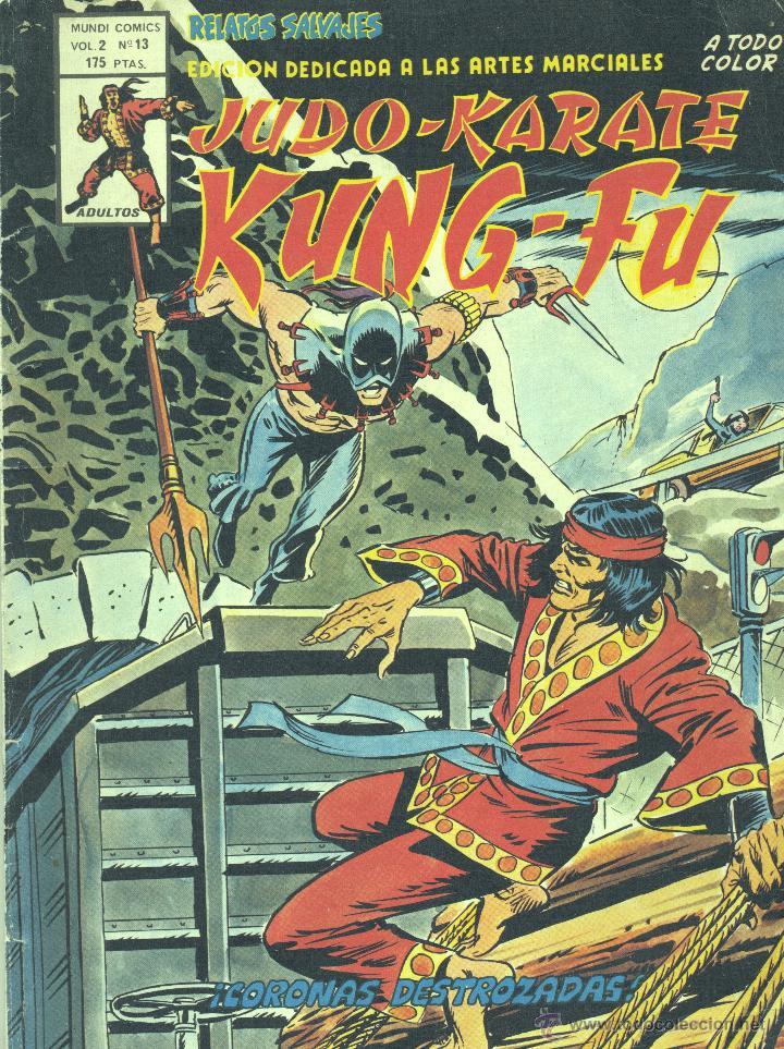 RELATOS SALVAJES. KUNG-FU Nº13. VOLUMEN 2. EDITORIAL VÉRTICE, 1976 (Tebeos y Comics - Vértice - Relatos Salvajes)