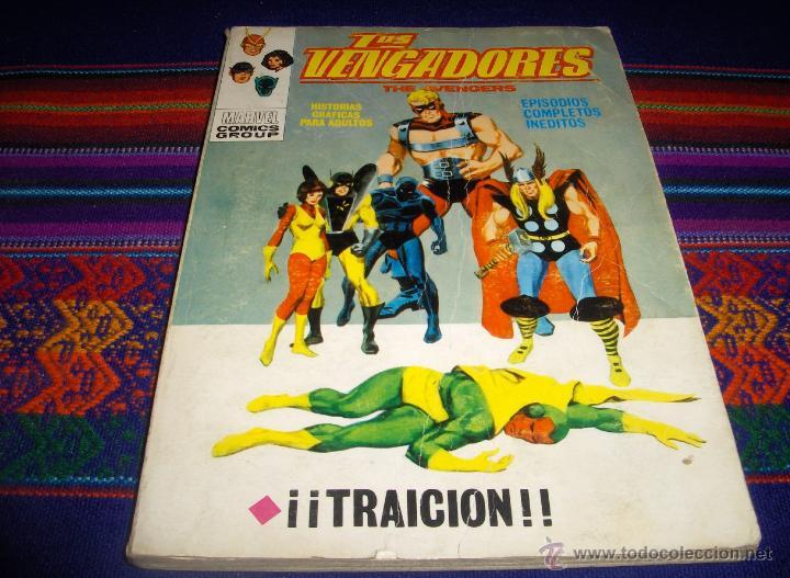 VÉRTICE VOL. 1 LOS VENGADORES Nº 30. 1972. 25 PTS. TRAICIÓN. (Tebeos y Comics - Vértice - Vengadores)